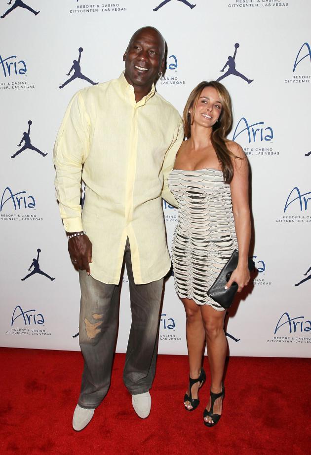 Yvette Prieto and Michael Jordan