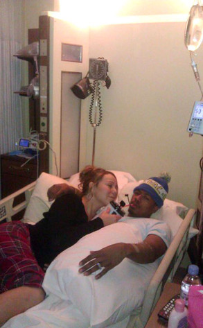 Nick Cannon in the Hospital