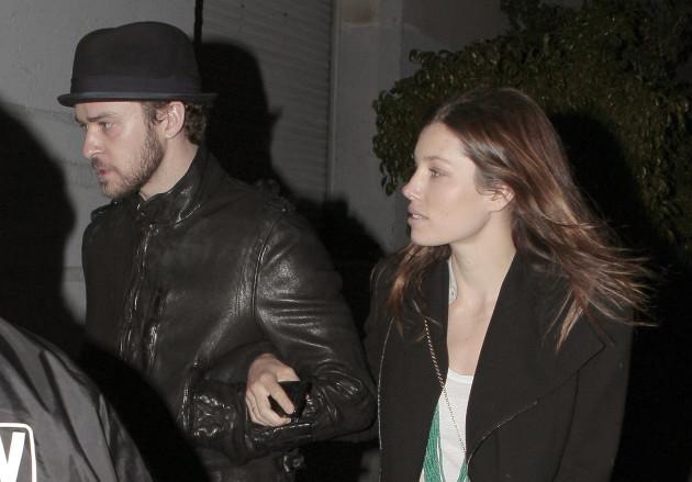 Jessica Biel and Justin Timberlake Pic
