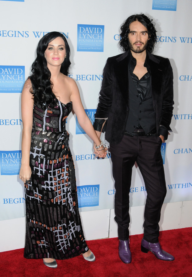 Katy Perry and Russell Brand Pic