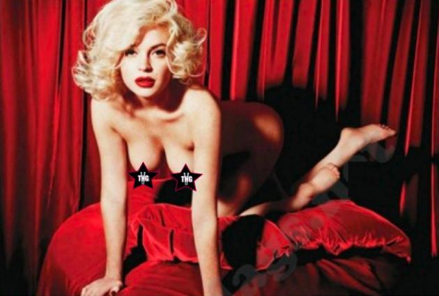 Lindsay Lohan Nude Playboy Pic
