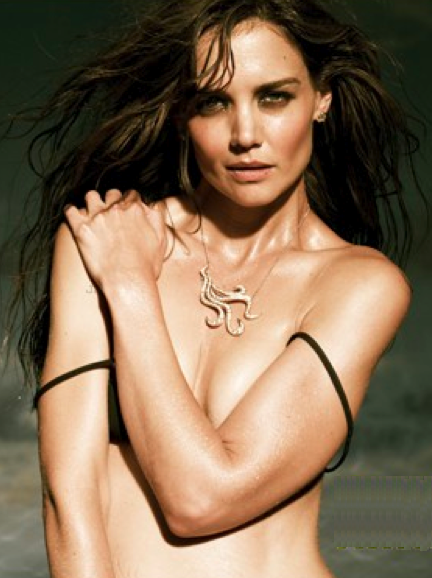 Katie Holmes Topless