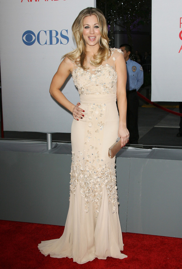 Kaley Cuoco at People's Choice Awards