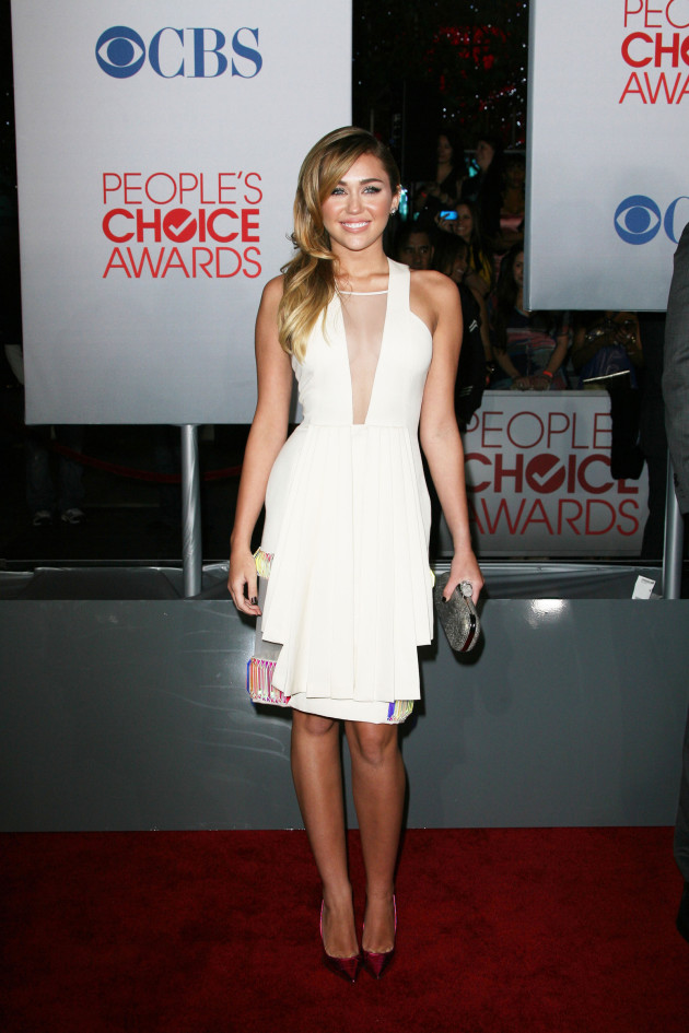 Miley Cyrus at People's Choice Awards