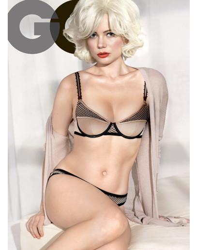 Michelle Williams GQ Pic
