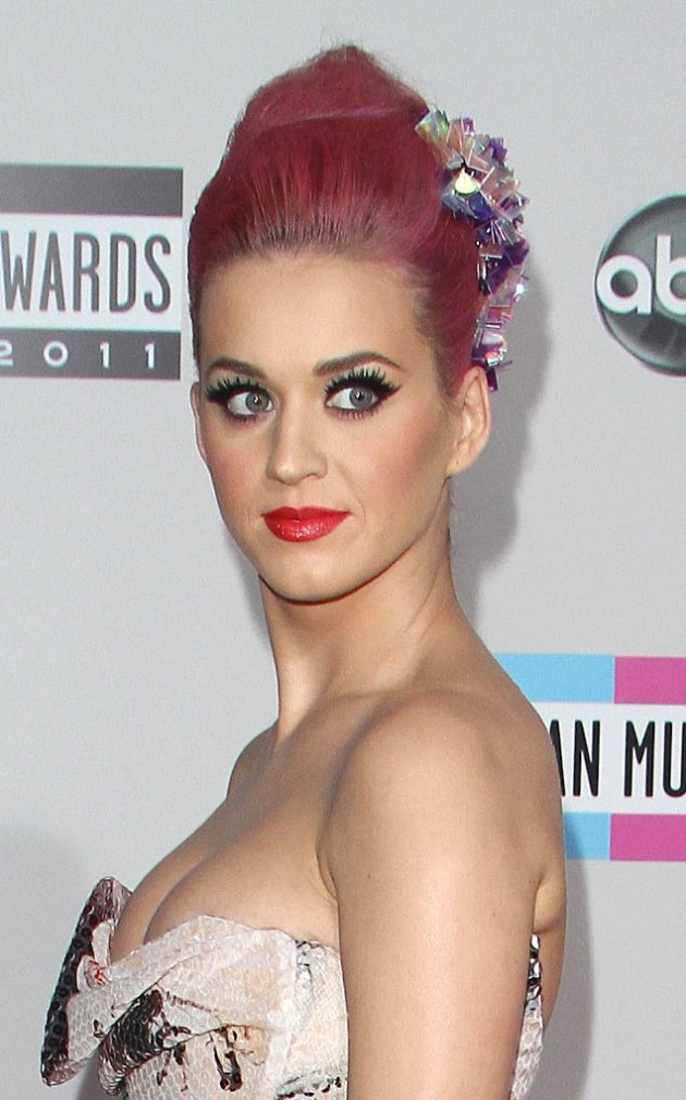 Katy Perry, Pink Hair Pic