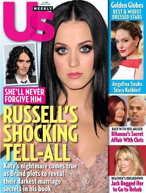 Russell Brand and Katy Perry Us Cover