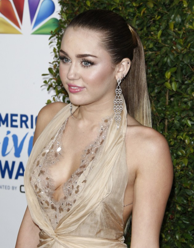 Miley Cyrus on a Red Carpet