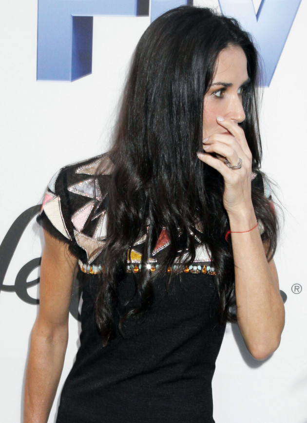 Demi Moore in NYC