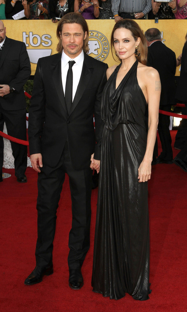 Brangelina at the SAG Awards