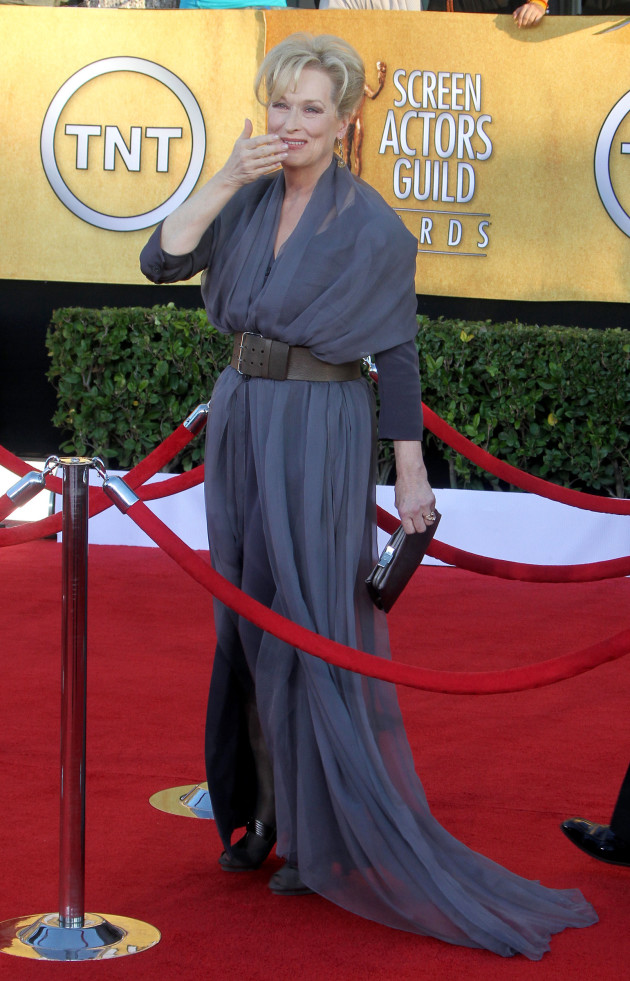 Meryl Streep at th SAG Awards
