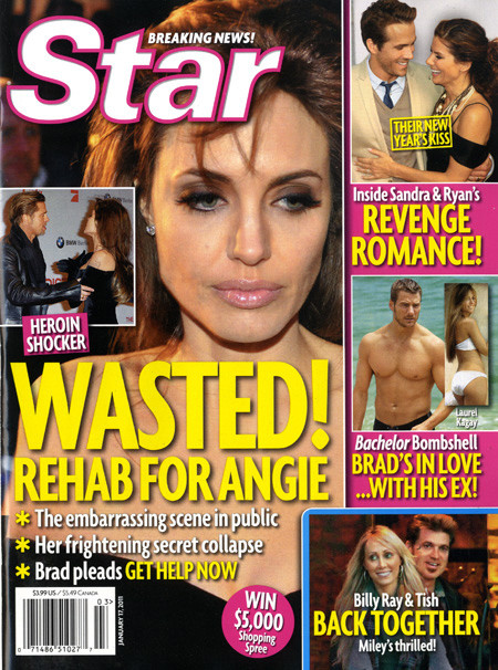 Angelina Jolie WASTED!