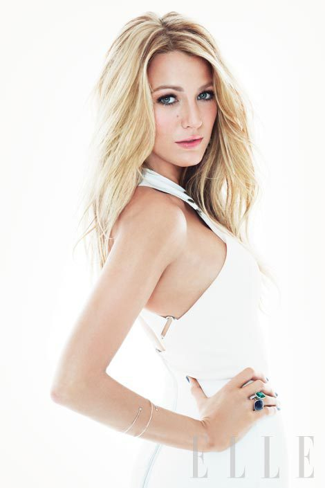 Blake Lively in Elle