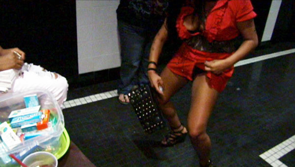 Snooki Crotch Shot