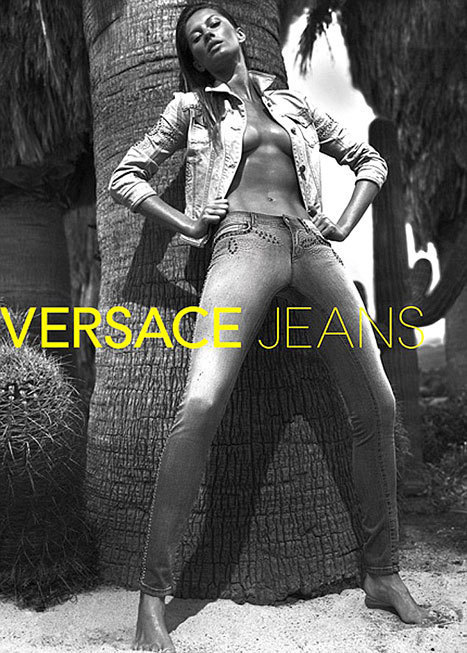 Gisele for Versace