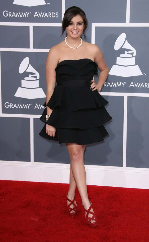 Rebecca Black at the Grammys