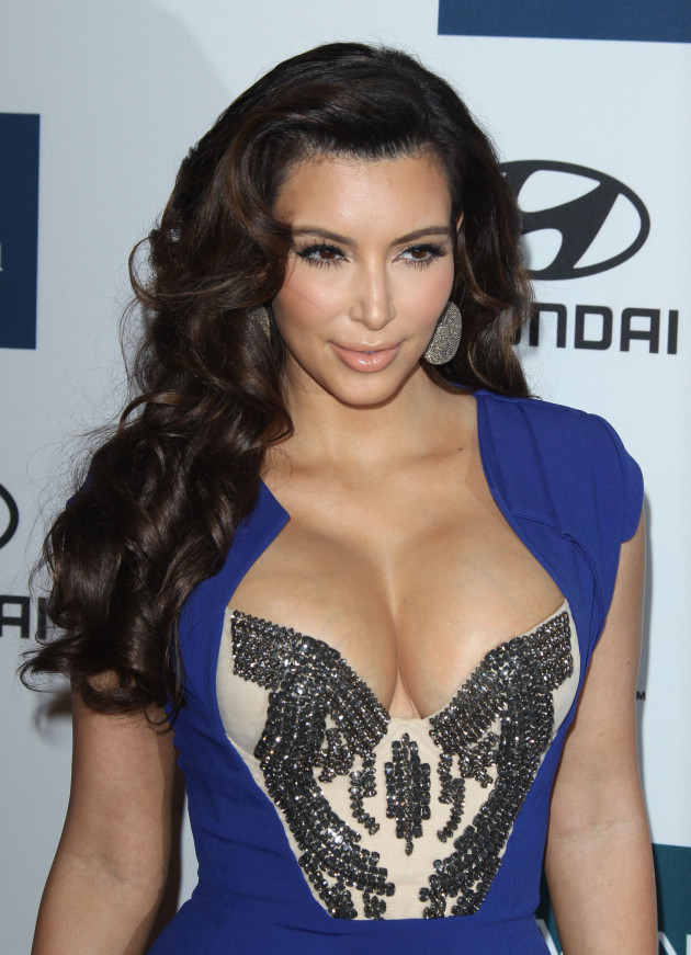 Kim Kardashian and Her Breasts