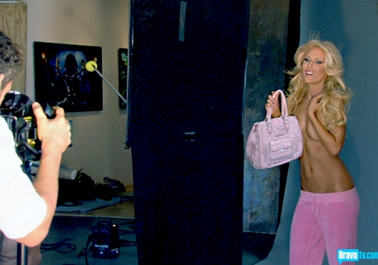Gretchen Rossi Topless
