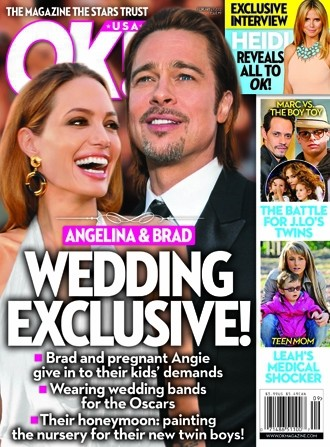 Angelina Jolie and Brad Pitt Wedding EXCLUSIVE!