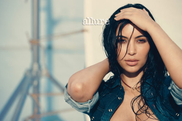Kim Kardashian in Allure