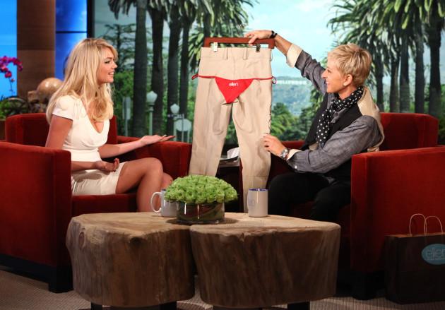 Kate Upton on Ellen