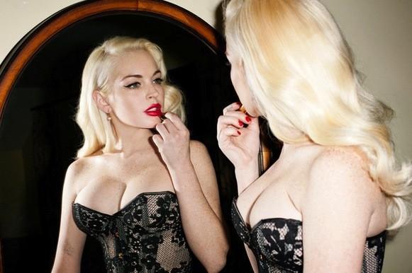 Lindsay Lohan Rack