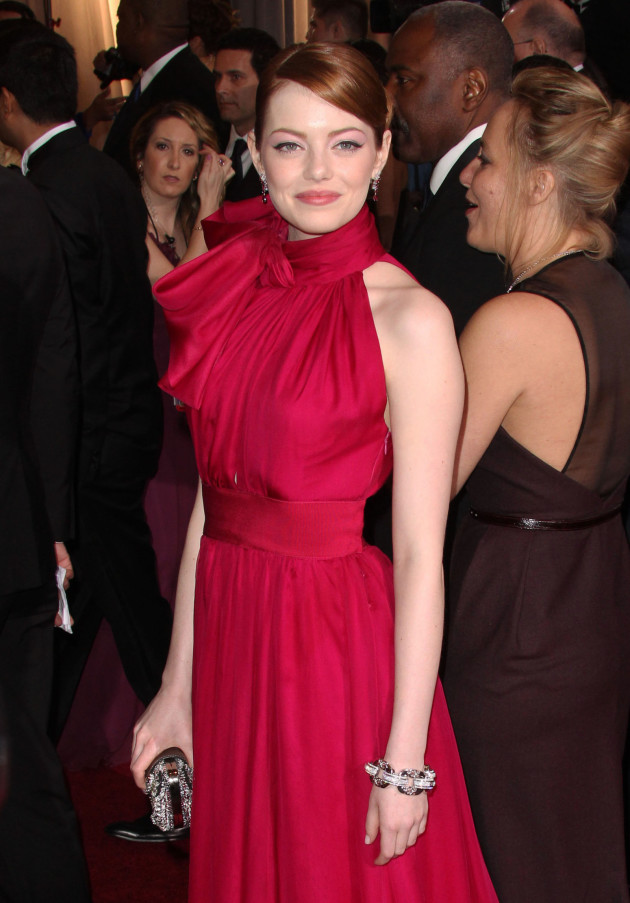 Emma Stone at the Oscars