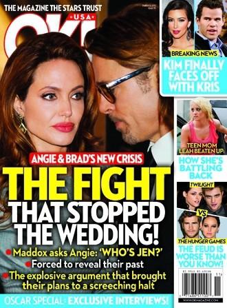 Angelina Jolie and Brad Pitt Wedding: OFF!