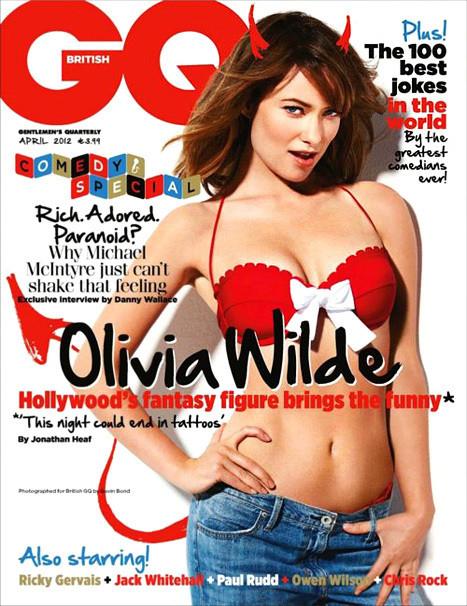 Olivia Wilde GQ Cover