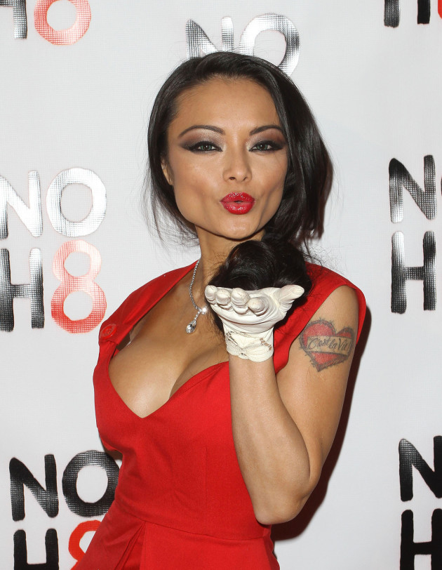 Tila Tequila in Red