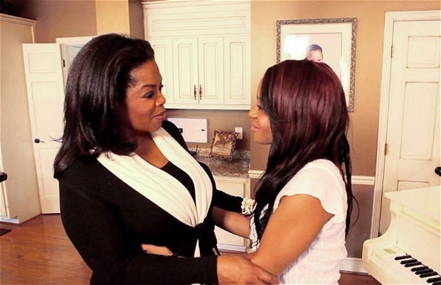 Oprah and Bobbi