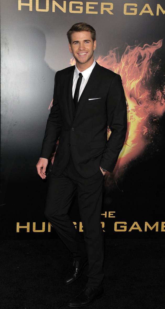 Liam Hemsworth at Hunger Games Premiere