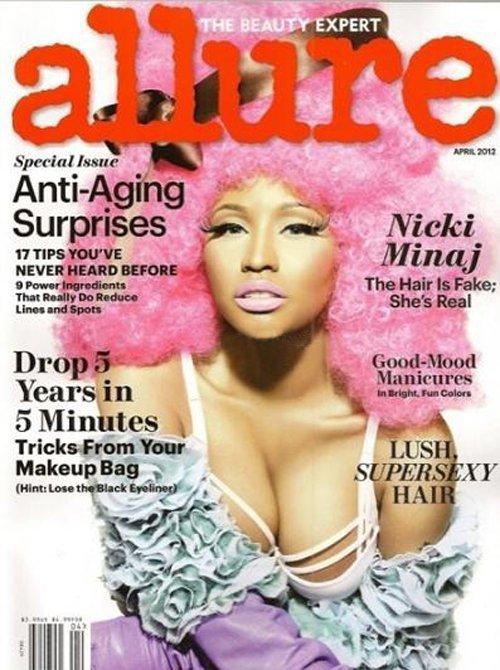 Nicki Minaj Allure Cover