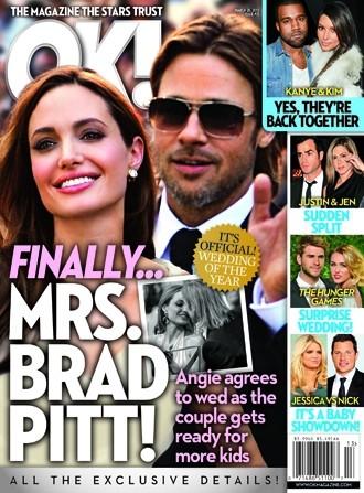 Mrs. Brad Pitt!