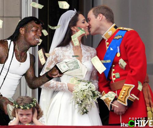 Lil Wayne at the Royal Wedding
