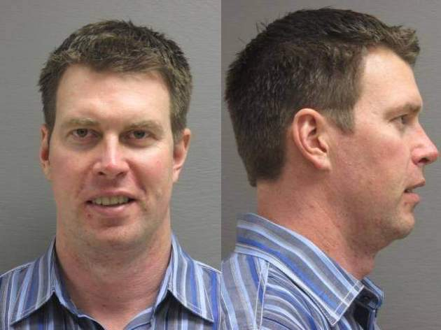 Ryan Leaf Mug Shot