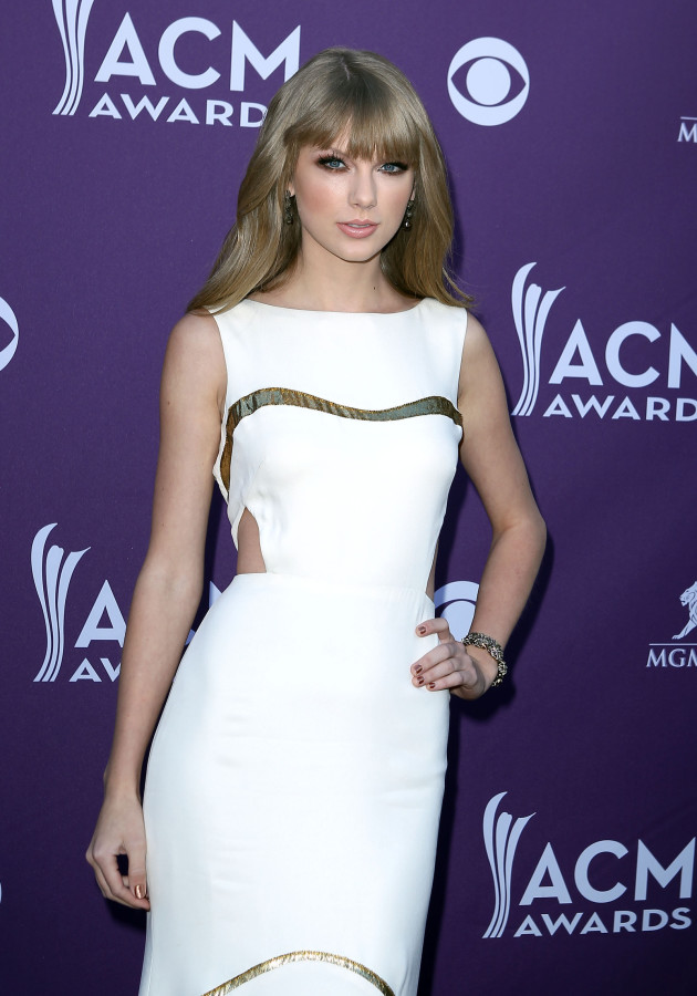 Taylor Swift at the ACMs