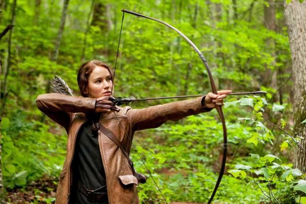 Katniss Everdeen Hunting