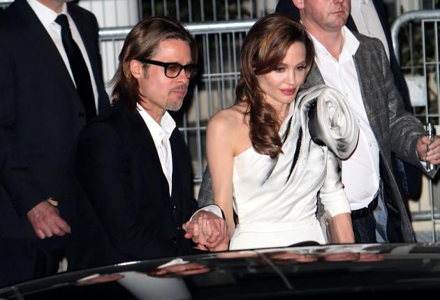 Brad Pitt And Angelina Jolie in Paris