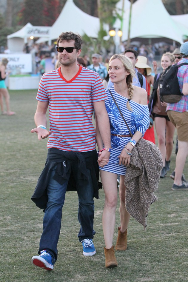 Diane Kruger and Joshua Jackson at Coachella