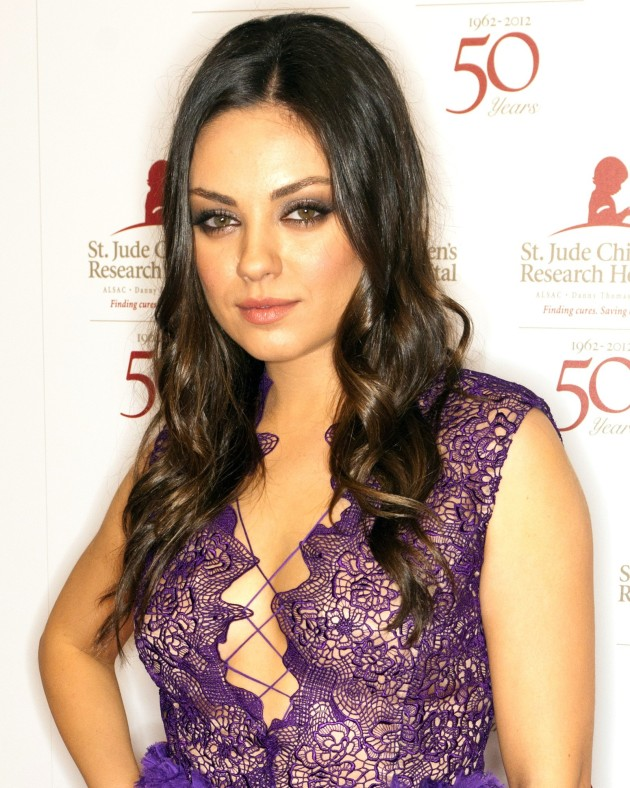 Mila Kunis in Purple