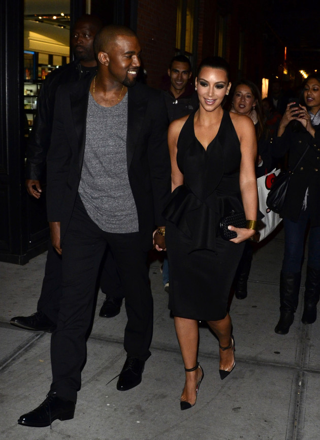 Kim Kardashian and Kanye West Photo