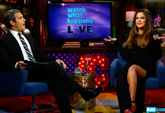 Khloe Kardashian on Watch What Happens Live