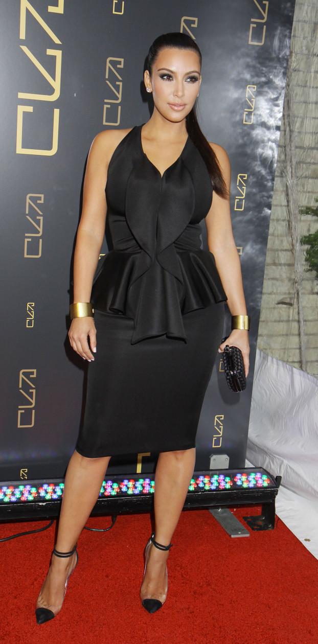 Kim Kardashian at Restaurant Opening