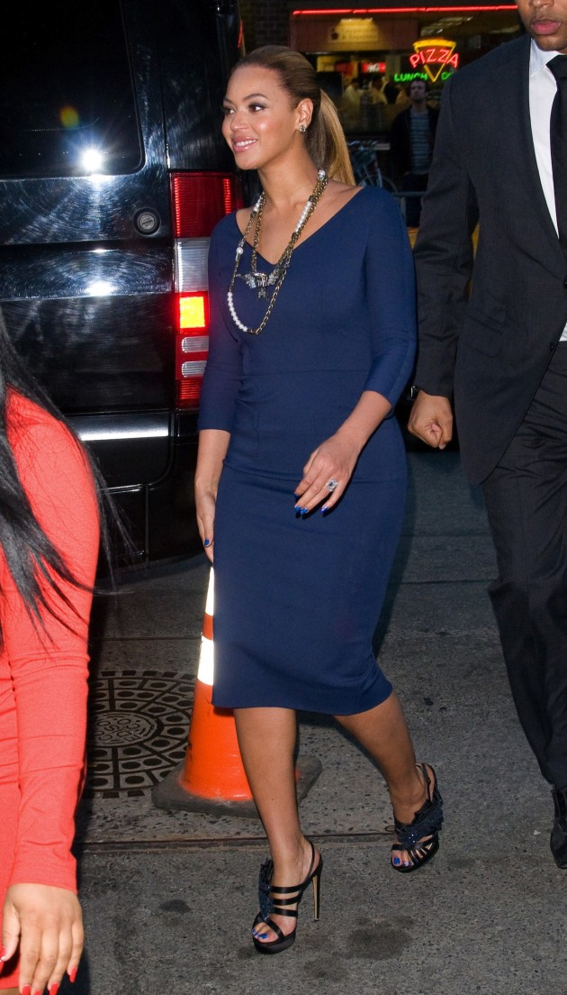 Beyonce in NYC