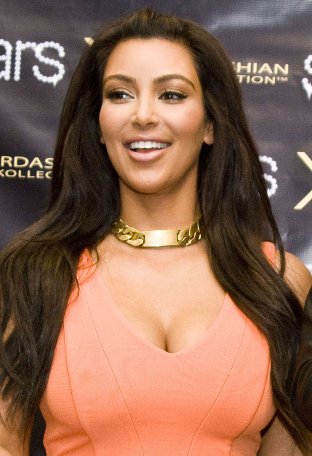 Kim Kardashian and Cleavage