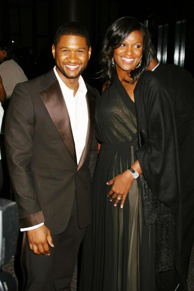 Tameka Foster and Usher