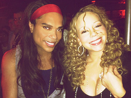 Mariah Carey and B. Scott