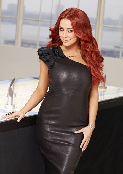 Aubrey O'Day on Celebrity Apprentice