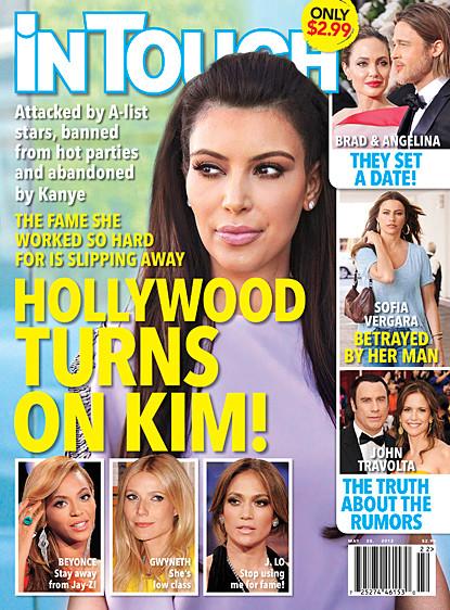 Hollywood Turns on Kim